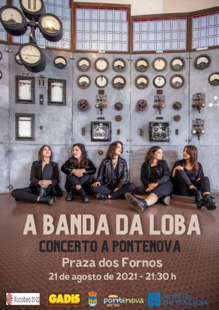 Concierto de A Banda da Loba en A Pontenova
